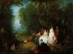 Пастораль (1718-1721) (48.6 х 64.5) (Чикаго, Институт искусств)