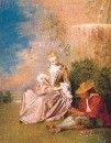 Тревожная любовь (1719) (Мадрид, Палаццо Реал)
