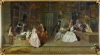 Вывеска лавки Жерсена (1720) (163 х 308) (Берлин, Дворец Шарлоттенбург)