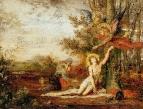 Христос с ангелами (71.5 х 92 см)