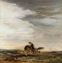 Шотландский всадник (145 х 145 см) (Париж, музей Гюстава Моро)