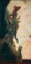 Падение Сапфо (80 х 40 см) (Париж, музей Гюстава Моро)