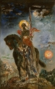 Исход и ангел смерти (110 х 67 см) (Париж, музей Гюстава Моро)