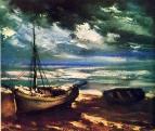 Тучи на берегу