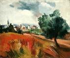 Сельский пейзаж 1908