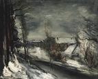 Village under Snow 01