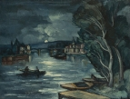 Chatou, Night, 1910