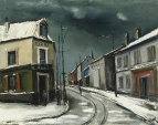 Village Road under the Snow, 1928-30