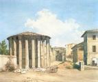 Храм Весты в Риме. Конец 1830-х