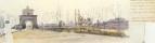 Вид на Понте Молле близ Рима. Конец 1830-х