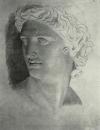 Голова Аполлона Бельведерского. Начало 1830-х