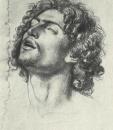 Голова Иуды. Этюдный рисунок для композиции Братья Иосифа находят чашу в мешке Вениамина. 1831