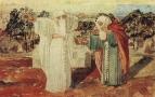Авраам просит у Бога знамения (Призвание Авраама). 1850-е