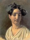 Портрет Виттории Кальдони (Лапченко). 1834