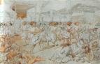 Народ израильский поклоняется Золотому тельцу. 1849-57