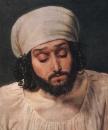 Мужская голова сомневающегося, в повороте. Конец 1830-х-1840-е