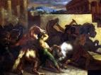 Бег свободных лошадей в Риме
