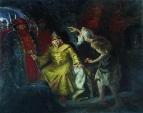Иоанн Грозный с приближенными