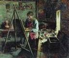 Деревенский иконописец