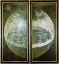 Сотворение мира (триптих закрыт)