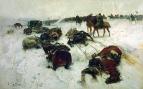 Замерзшие казаки генерала Павлова