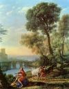 Пейзаж с Аполлоном и Меркурием