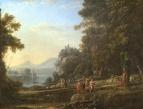 Пейзаж с Аполлоном и Марсием