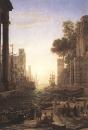 Лоррен Клод  :: Посадка на Св. Павла Романа в Остии