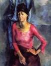 Портрет Е.Т.Барковой