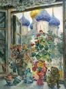 Вид из окна на Троице-Сергиеву лавру