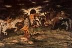 El combate de los lapitas y los centauros