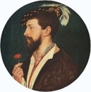 Portrait of Simon George 1533