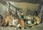 Парижское гулянье. Эскиз. 1863-64 Х., м. 54.8x80.5 ГТГ