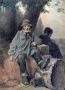 Парижские тряпичники. 1864 Х., м. 72х55 ГТГ
