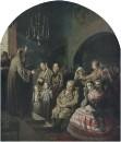 Проповедь в селе. 1861 Х., м. 69,3х59,3 ГТГ