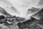 Высокогорная долина, 1822