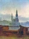 Вид на Дрезден с Брюльшен Террасе, 1831