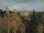 Лесной пейзаж, 1830