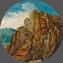 Горный пейзаж (частная коллекция)
