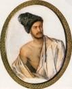 А. А. Столыпин (Монгó) в костюме курда. Акварель. 1841 год.