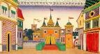 Царство Дадона, городская площадь