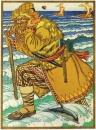 Великан несет по морю Ивана купеческго сына