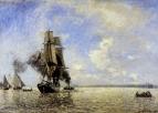 Выход из порта Онфлер
