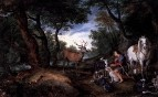 Видение святого Губерта, между 1615 и 1630