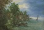 Деревня на реке, 1604