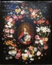 Мадонна и младенец в окружении разных цветов, конец 16- начало 17 в
