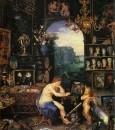 Зрение, деталь, 1618