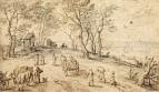 Сельские жители на пути к рынку, 1615-1619