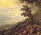 Сбор цыган в лесу, вторая половина 16 в