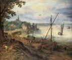 Речной пейзаж, 1608